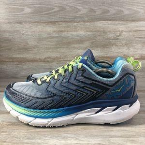 Hoka one one Clifton 4 running shoes Sz 10.5 2E